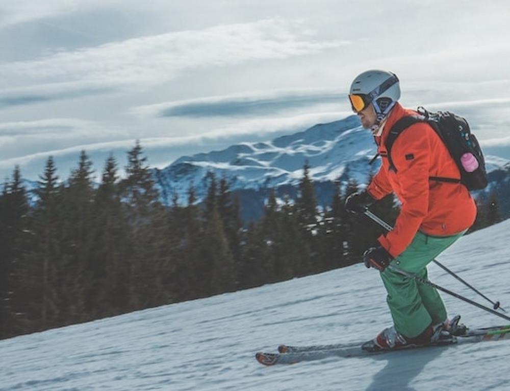 Neem je pasfoto mee op wintersport