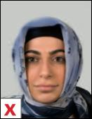 pasfoto - hoofddoek mag gezicht niet bedekken