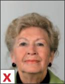 pasfoto - houding hoofd achterover