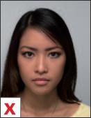 pasfoto - positie niet gecentreerd