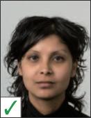 pasfoto - goede weergave gezicht
